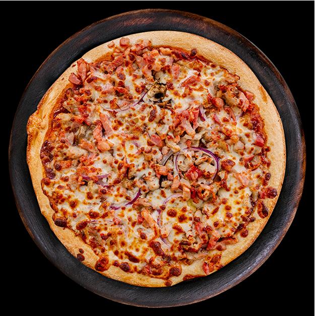 Traditinoal Pizza BBQ Chicken 1